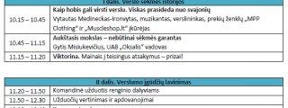 """Renginys """"Verslas veža"""" - Jurbarko Antano Giedraičio-Giedriaus gimnazijoje"""