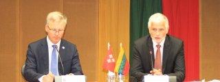 Susitikimas su žemės ūkio ministru Broniumi Markausku