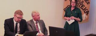Ministro L. Kukuraičio vizitas