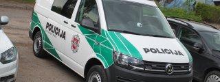 Nauji policijos automobiliai VW Transporter