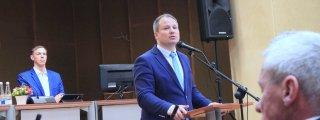 Žemės ūkio ministras G. Surply...