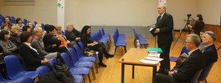 Darbo grupė susitiko su Vytaut...