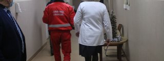 Skiepijami Jurbarko ligoninės ...