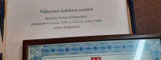 Veliuonos kultūros centro apdo...
