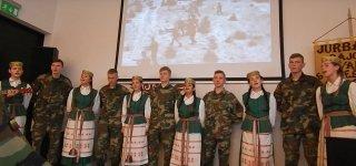 Lietuvos kariuomenės dieną rajono bibliotekoje skambėjo patriotinės dainos (VIDEO)