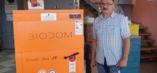 UAB SANMONTA pristatytas moderniausias granulinis šildymo katilas