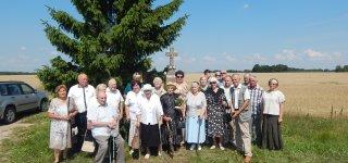 Bacių kaimo kryžius – vienmetis su Lietuva