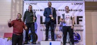 1 vieta - Mindaugas Smirnovas