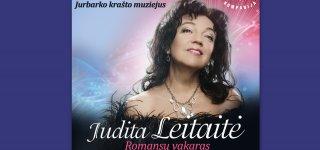 Judita Leitaitė romansų vakaras Jurbarko krašto muziejuje