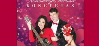 Livetos, Petro ir Ingridos Kazlauskų nuotaikingas šventinis koncertas