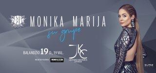Monikos Marijos gyvo garso koncertas Jurbarke