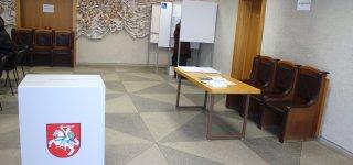 Merų rinkimų antrasis turas. Išankstinis balsavimas rajone - vangesnis