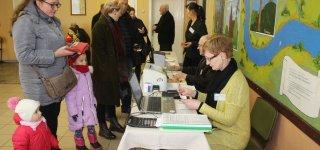 Merų rinkimai.  Rajono rinkėjų aktyvumas sumažėjo (ATNAUJINTA)
