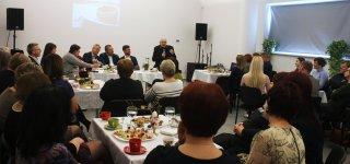 Kultūros pusryčiai. V. Masalskis apie kultūrininko misiją tėkšti skaudžią tiesą į veidą (video)