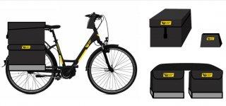 Jurbarko paštininkai važinės elektriniais dviračiais