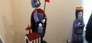 V. Grybo memorialiniame muziejuje atidaryta unikali vilnonių skulptūrų paroda