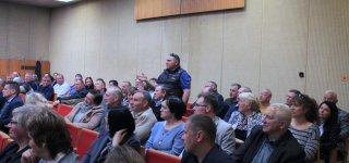 Žemės ūkio ministras Giedrius Surplys susitiko su rajono žemdirbiais