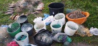 Mituvos upėje sulaikytiems pažeidėjams teks atlyginti beveik 1000 eurų žalą žuvų ištekliams