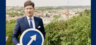 """Judėjimo """"Lemiamas šuolis""""  lyderis Paulius Kunčinas  kviečia pakeisti kryptį"""
