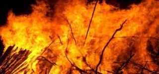Gaisras Jakaičiuose: ugnis apgadino apie 150 kg šviežios mėsos