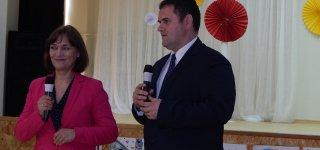 Rumunijos ambasadorius svečiavosi renginyje