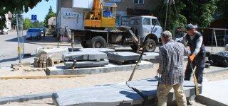 Sinagogų aikštėje jau kyla Memorialas (nuotraukos, video)