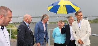 Jurbarke svečiuojasi Vidaus vandens kelių direkcijos generalinis direktorius (VIDEO)