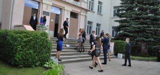 Beveik visi šimtukai gauti Jurbarko gimnazijos abiturientų.
