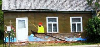 Seredžius apleistą namą pavertė patraukliu turizmo objektu