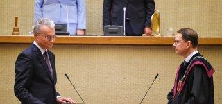 Prisiekė naujasis šalies Prezidentas Gitanas Nausėda (inauguracijos kalba)
