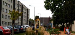 Kompleksiškai sutvarkytas gyvenamųjų namų kvartalas Jurbarko centre