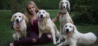 Gražiausią šunį augina Jurbarko krašte apsigyvenusi dresuotoja