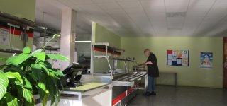 Atnaujinta Naujamiesčio progimnazijos valgykla ir virtuvė