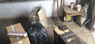 Jurbarke garaže pasieniečiai aptiko kontrabandinių cigarečių ir sulaikė jurbarkietį