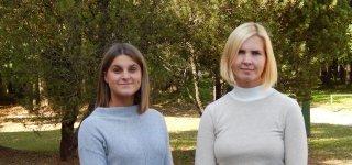 Gydytojos psichiatrės Kristina Šukė ir Viktorija Talandytė (kairėje)