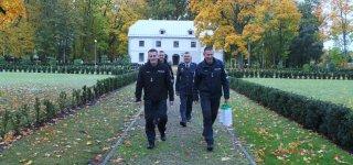 Marijampolėje už nepriekaištingą elgesį pagerbti rajono policijos pareigūnai