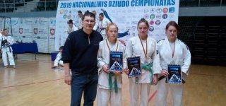 Prizininkai Lietuvos nacionalinės dziudo asociacijos čempionate