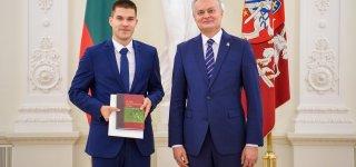 Puikias Konstitucijos žinias jurbarkietis naudos naujame darbe Seime
