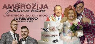 """Humoro grupė AMBROZIJA """"Sidabrinės vestuvės"""""""