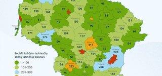Savivaldybės turi 13,2 mln. Eur socialiniams būstams, bet eilėje laukia 10,5 tūkst. šeimų ir asmenų