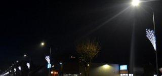 Jurbarke Dariaus ir Girėno gatvėje modernizuotas apšvietimas