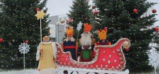 Prasidėjo Trijų karalių kelionė po Jurbarką (nuotraukos)