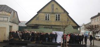 Jurbarkas prisiminė Holokausto aukas ir pasmerkė genocidą (nuotraukos, video)