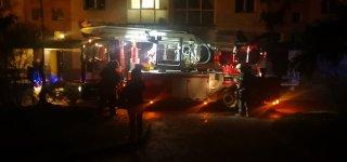 Į Jurbarko miesto centrą skubėjo net keturi priešgaisrinės gelbėjimo tarnybos ekipažai