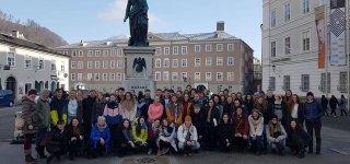 """,,Antano Giedraičio - Giedriaus gimnazijos Erasmus+ grupė įsitikinusi - Pasaulio ateitis – jaunimo rankose"""""""
