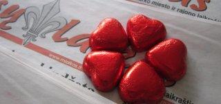Šv. Valentino dieną staigmenos mylimiesiems