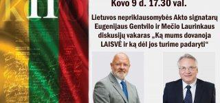 Jurbarkas. Lietuva. Kovo 9-oji – Lietuvos vardo diena.