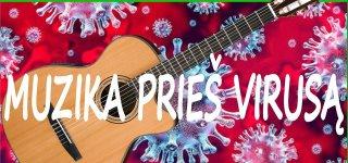 Muzika prieš virusą. Jurbarko kultūros centras skelbia konkursą