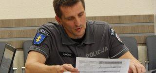 Jurbarko rajono policijos komisariato viršininkas Aivaras Dumčius.