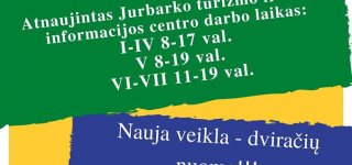 Turizmo ir verslo informacijos centras praneša dvi geras žinias